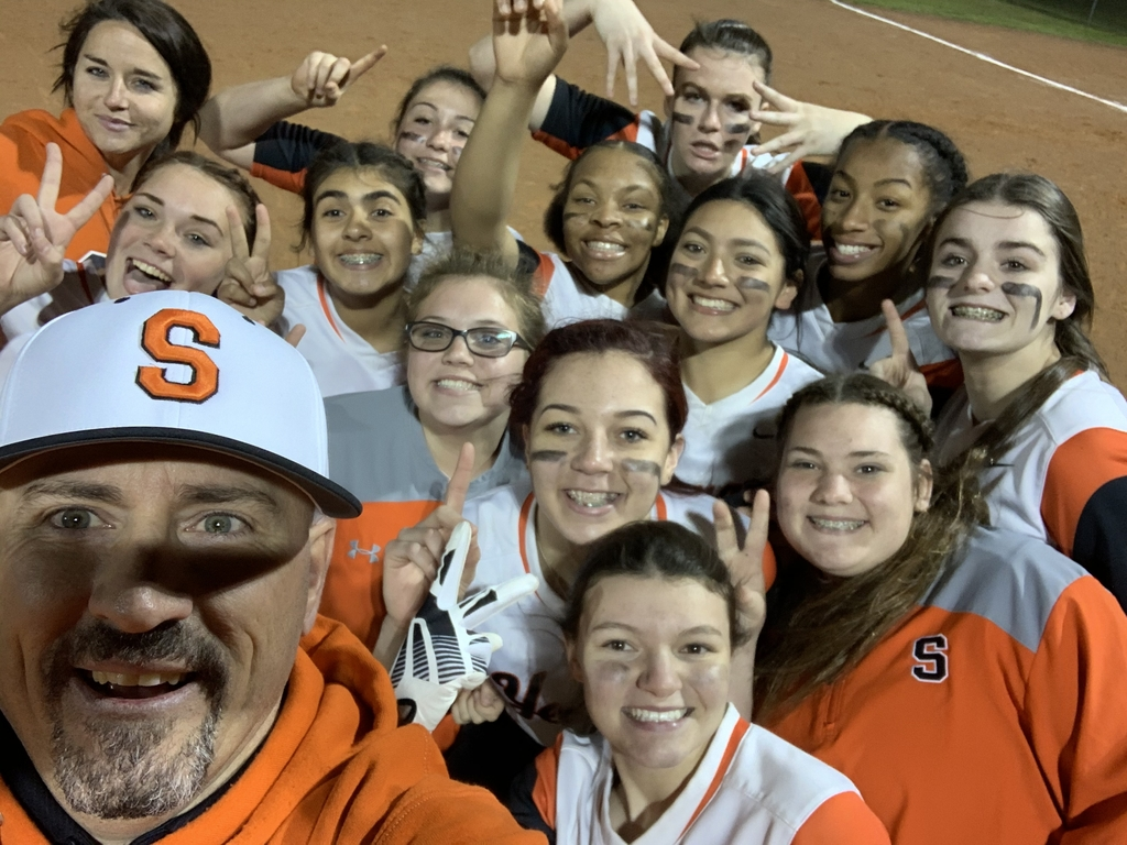 A fun picture after our 1st district win!